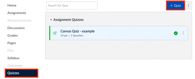 Canvas now offers two quiz tools  What's the difference